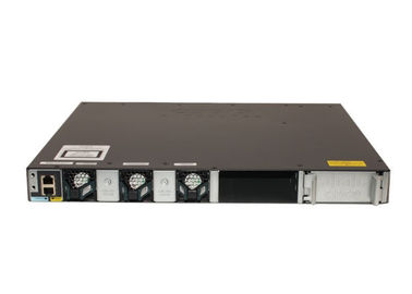O catalizador 3650 de Cisco do interruptor de WS-C3650-24TD-L Gigabit Ethernet 24 portos Uplink a base do LAN